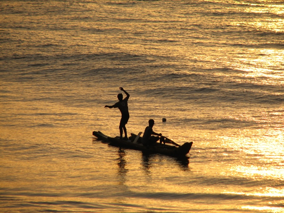 Fishermen at Pondy